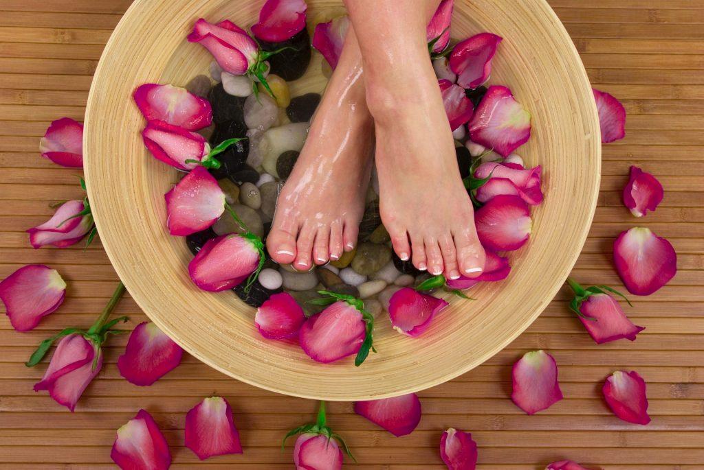 Füße Fußreflexzonenmassage