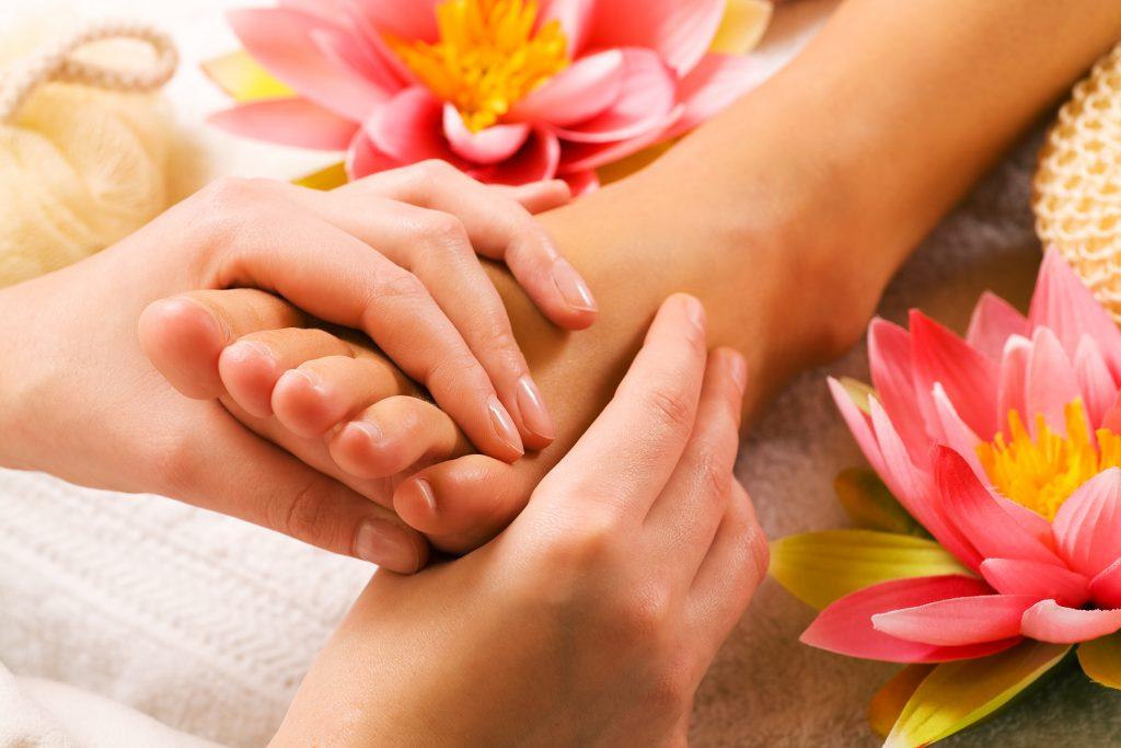 Füße Fufreflexzonen Therapie Fußmassage Podologie Gesundheit