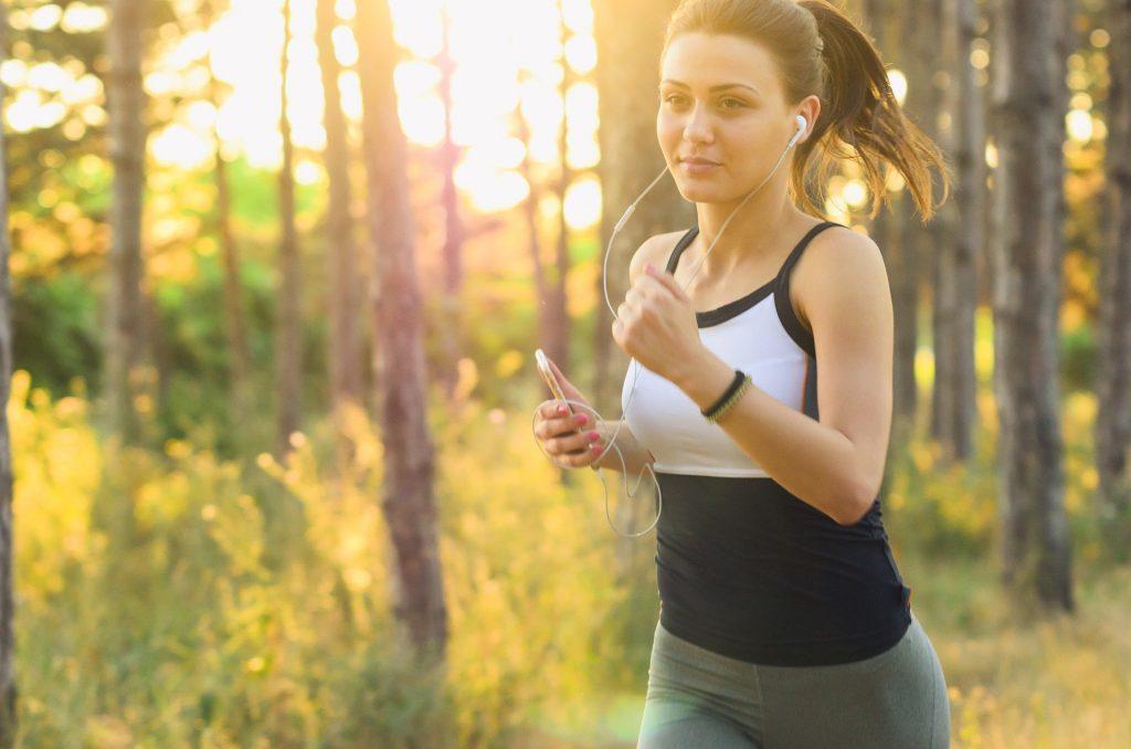 Frau Jogging Sport